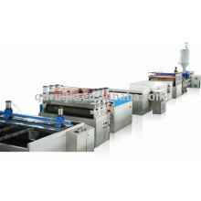 PC Hollow corrugated sheet extrusion line(10)