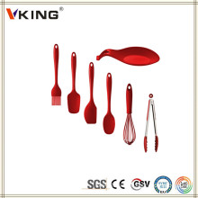 China Products Colorful Silicone Kitchen Utensils Set