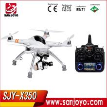 Горячая китайские продукты оптовая упор в QR x350 электронной формате rtf quadcopter Дрон с Devo7