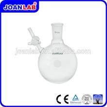 Flacon de réaction de verrerie JOAN LAB avec fournisseur de robinet droit droit
