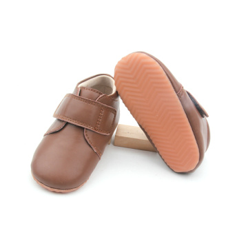 Nuevo Velcro Leather Baby Sports Shoes Wholesales