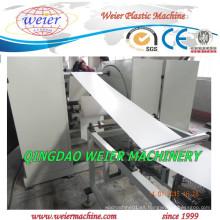Línea de producción plástica de la máquina de la fabricación de los tramos del borde del PVC