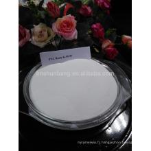 Résine PVC pour récipients en plastique