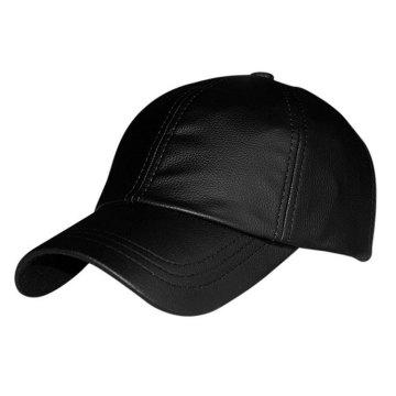 chapéu de boné de couro de beisebol