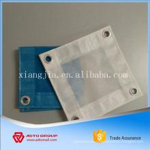 Feuille de maille de PVC ignifuge de 160g / feuille de maille pour la protection de bâtiment de construction