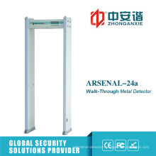 LED 50 Working Bands Archway Metal Detector for Bus Station
