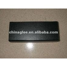 caja de cartón pluma con cubierta de cuero de la PU