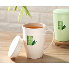 Vaisselle en bambou non toxique avec couvercle