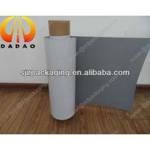 150 micron white PET film backing grey for inkjet advertising