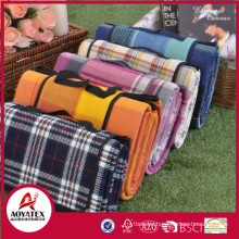 Fashion design large picnic blanket with waterproof backing