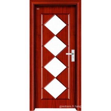 Porte intérieure en bois (LTS-309)