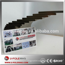 High quality N35 Ni coating 50x4x2.4mm block neodymium magnet