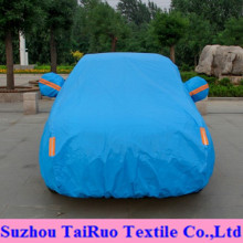 Solid Color Car Cover of 100% Polyester High Waterproof Fabric