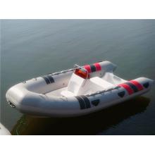Das beliebteste aufblasbare weiße Boot der Rippe 420 mit CE