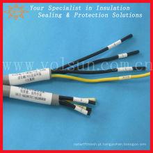 Tubo de marcador de fio de uso de impressora térmica