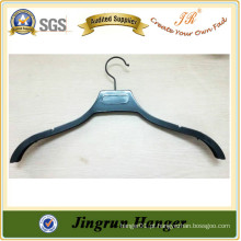 Alibaba China Hot Selling Product Metal Gancho Plastic Black Hanger