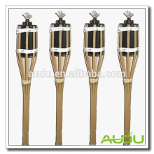 Audu 4 FT Garden Use tocha / tocha de bambu artesanal para uso doméstico