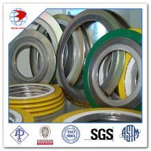 Спиральная набивка прокладок ASME B16.20 Ss316 / Графит с прокладками из материала наружного кольца CS