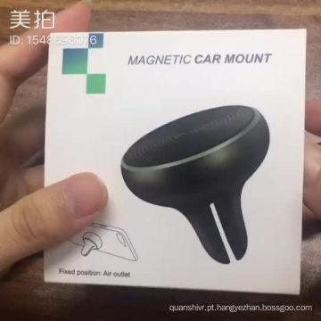 Nova venda quente patenteado golfinho projetando suporte magnético do telefone móvel de montagem de ventilação de ar do carro