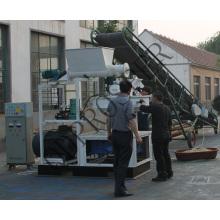 Rice Husk Palm Kernal Residues Palm Fiber Pellet Machine 1t Per Hour