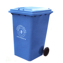 120 Liter Plastic Garbage Bin for Outdoor with Wheels (YW0028)