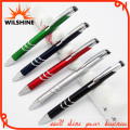 Popular Promotional Plastic Ball Pen with Metallic Paint (BP0206)