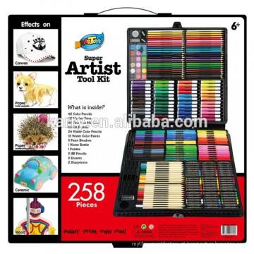 Artigos de papelaria para crianças pintura