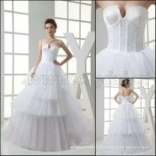 JJ3031 geben Verschiffen-Organza-Ballkleid-Rock-Brautkleider 2015 frei, die in den Porzellan-Hochzeitskleidern gebildet werden