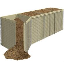 Hesco Barrier Bastion Welded Gabion Box Explosion-Proof Wall