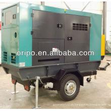 100kva / 80kw montado en camión grupos electrógenos con motor diesel de 6 cilindros 1006tg2a