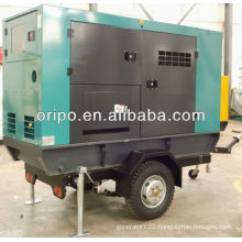 100kva/80kw truck mounted generator sets with 6 cylinder diesel engine 1006tg2a