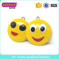 Regalo promocional Emoji colgante encantos para el llavero