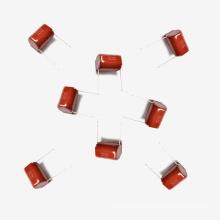 Condensador metalizado de la película de poliéster Mkt-Cl21 15UF 5% 100V para los pulsos