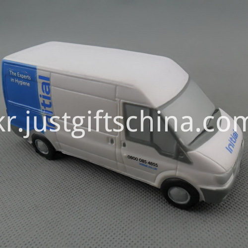 Promotional PU Van Stress Ball Reliever W Different Shapes
