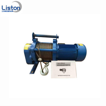 3 Motor Fase 600kg Electric Winch Hoist Kecil