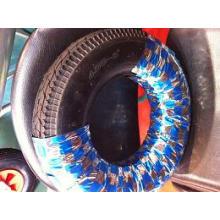 Pneu de carrinho de mão 350-8 / roda de borracha para carrinho / rodas pneumáticas para carrinho de mão de roda