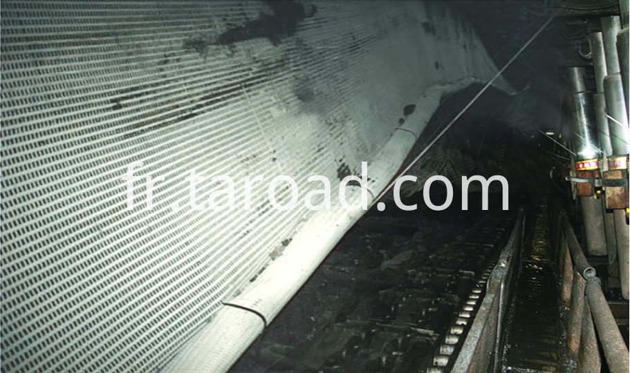 Coal Mine Supporting mesh grid antistatic mine grid