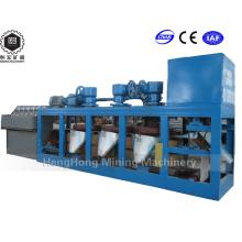 Separador magnético seco de pequeña capacidad (> 16000 GS de resistencia magnética)