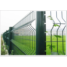 Welded and PVC Coated Wire Mesh Fence