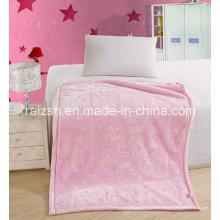 Baby Blankets Criança Cobertor Solid Color 3D Embossed