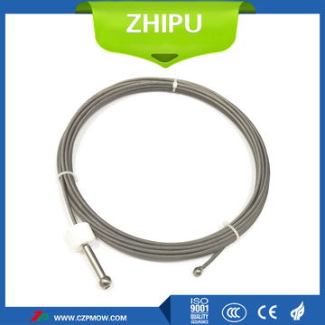 Tungsten wire rope single crystal furnace pulling system