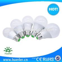 2w 3w 4w 5w 6w e27 220v lampe luces llevadas e iluminación llevó la iluminación del bulbo de iluminación llevada