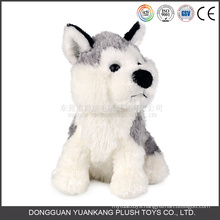 Stuffed Barking Realistic Plush Dog Toy
