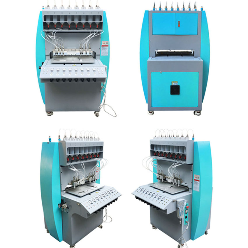 hoge output PVC plastic keyring tags machine