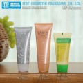 40mm diameter novelty oriented flip-top cap good quality round pe cosmetic cream tube