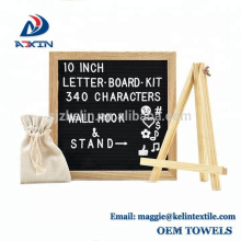 Factory Wholesale 10x10inch Changeable Felt Letter Board for Decoration
