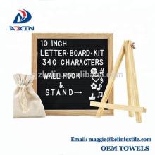 Fábrica Atacado 10x10 polegada Mutável Sentiu Letter Board para Decoração