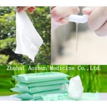 Toallitas húmedas para manos antibacterianas y tejidos húmedos