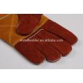 A9 47cm paume et pouce plus épais gants de soudage vache split gants de soudage en cuir