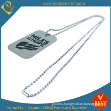 Custom Engraved Enamel Logo Pet ID Alloy Metal Dog Tag Customized Blank Stainless Steel Printing Printed Key Luggage Name Military Tag for Promotional Gift